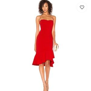 😍Likely Red Midi Dress😍